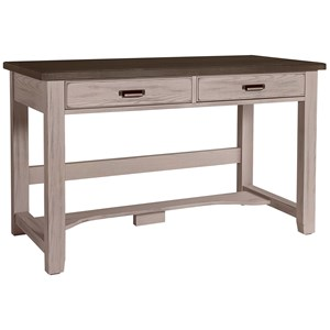 Transitional 2 Drawer Laptop Desk