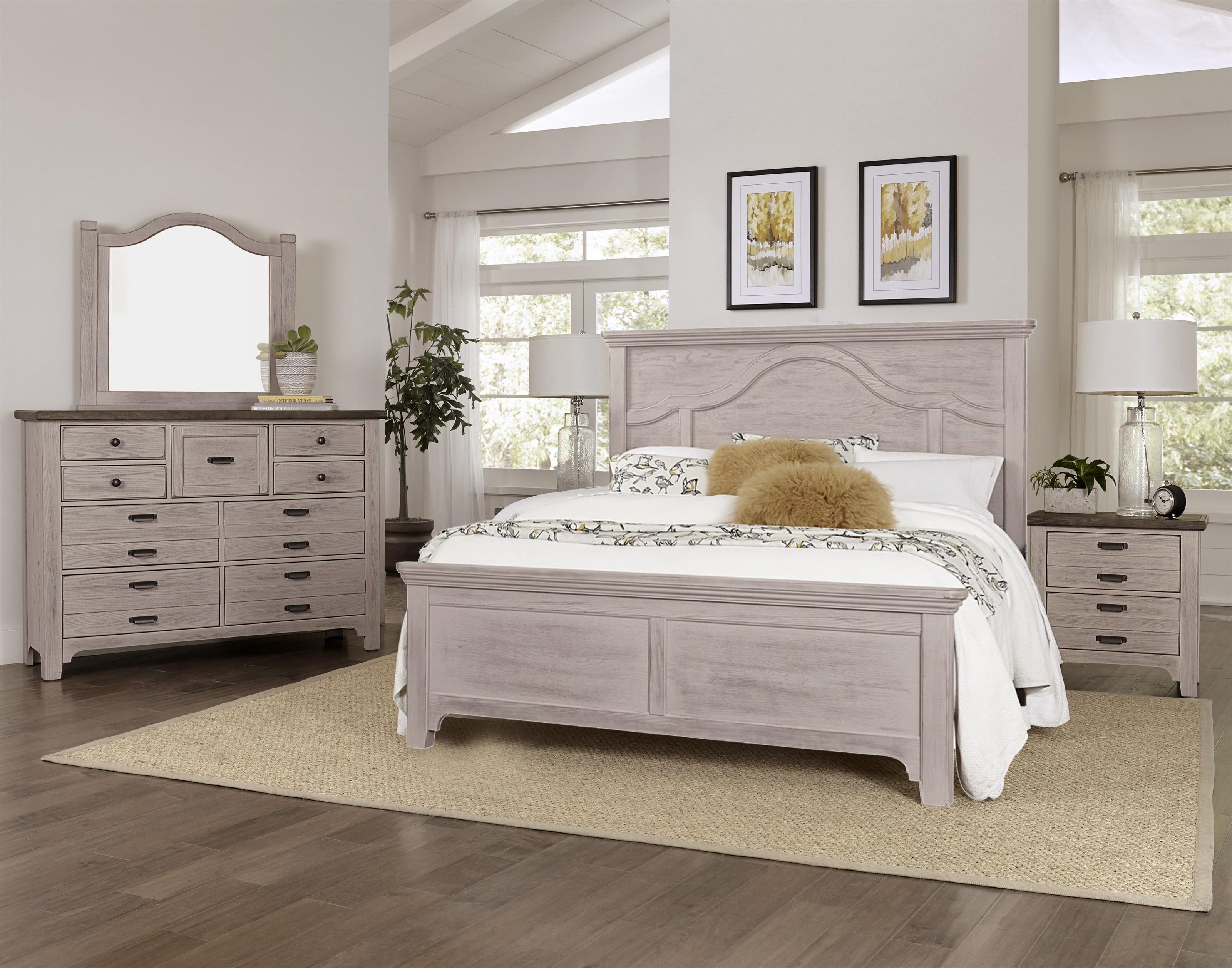 Bungalow 4-Piece King Bedroom by Laurel Mercantile Co. at Ruby Gordon Home