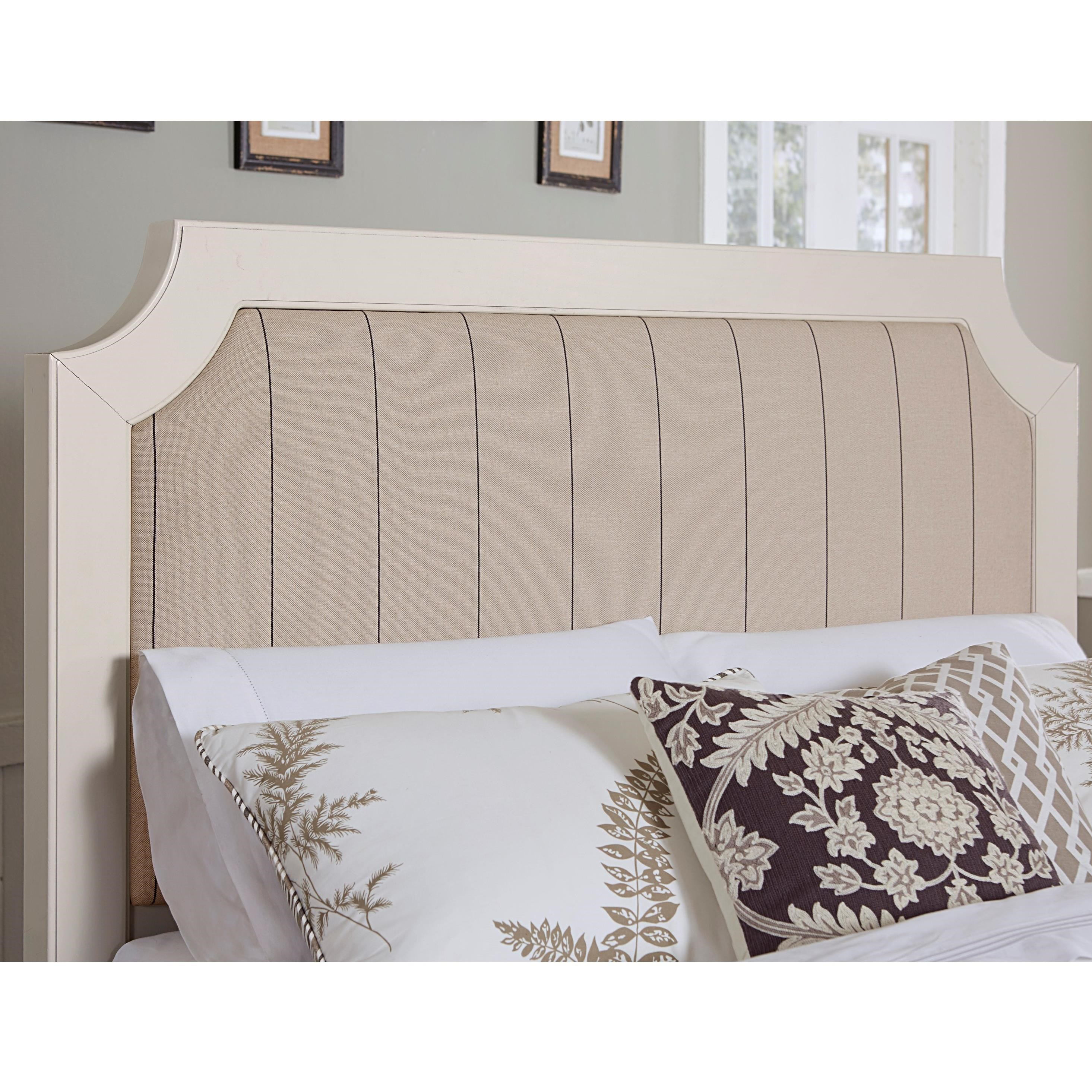 Bungalow Queen Upholstered Headboard by Laurel Mercantile Co. at Suburban Furniture