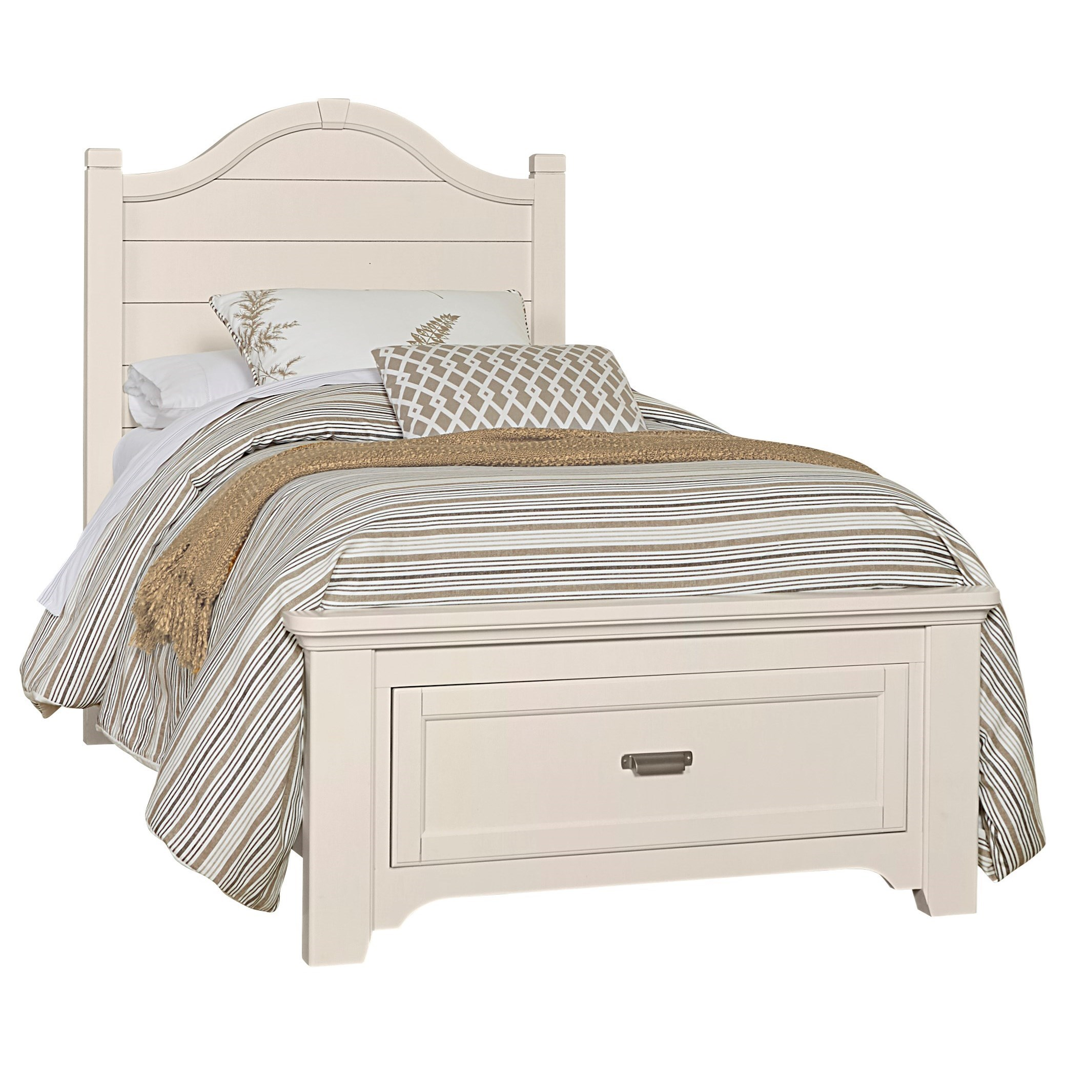Bungalow Full Storage Bed by Laurel Mercantile Co. at Home Collections Furniture