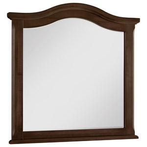 Rustic Tall Arched Mirror