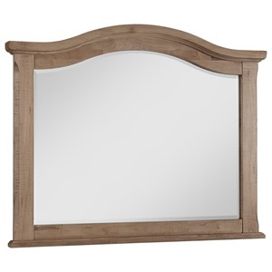 Rustic Wide Arched Mirror