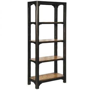 Shelving Unit with 4 Shelves and Two Tone Finish