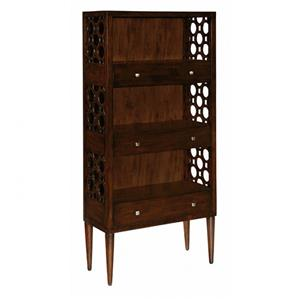 Bookcase with Shelving and 3 Drawers