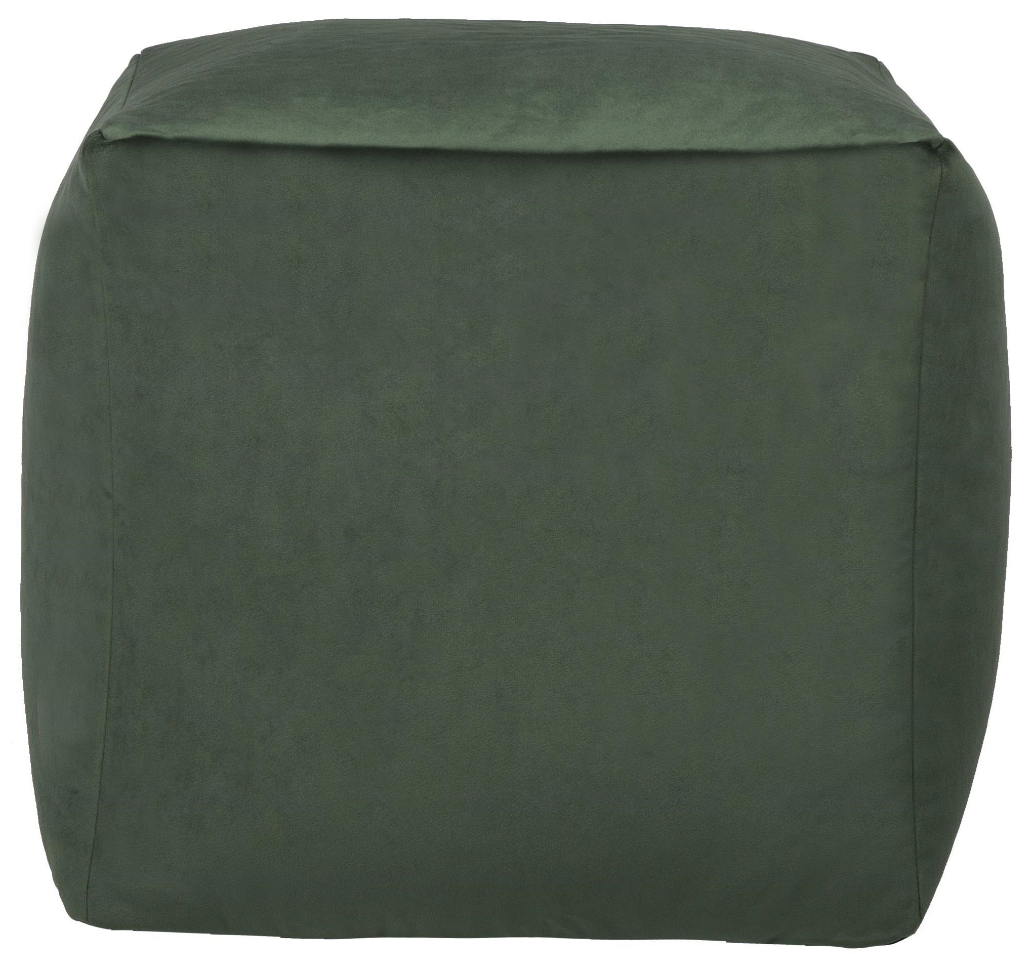 Beanbag Green Cube Beanbag by Lazy Life Paris at HomeWorld Furniture