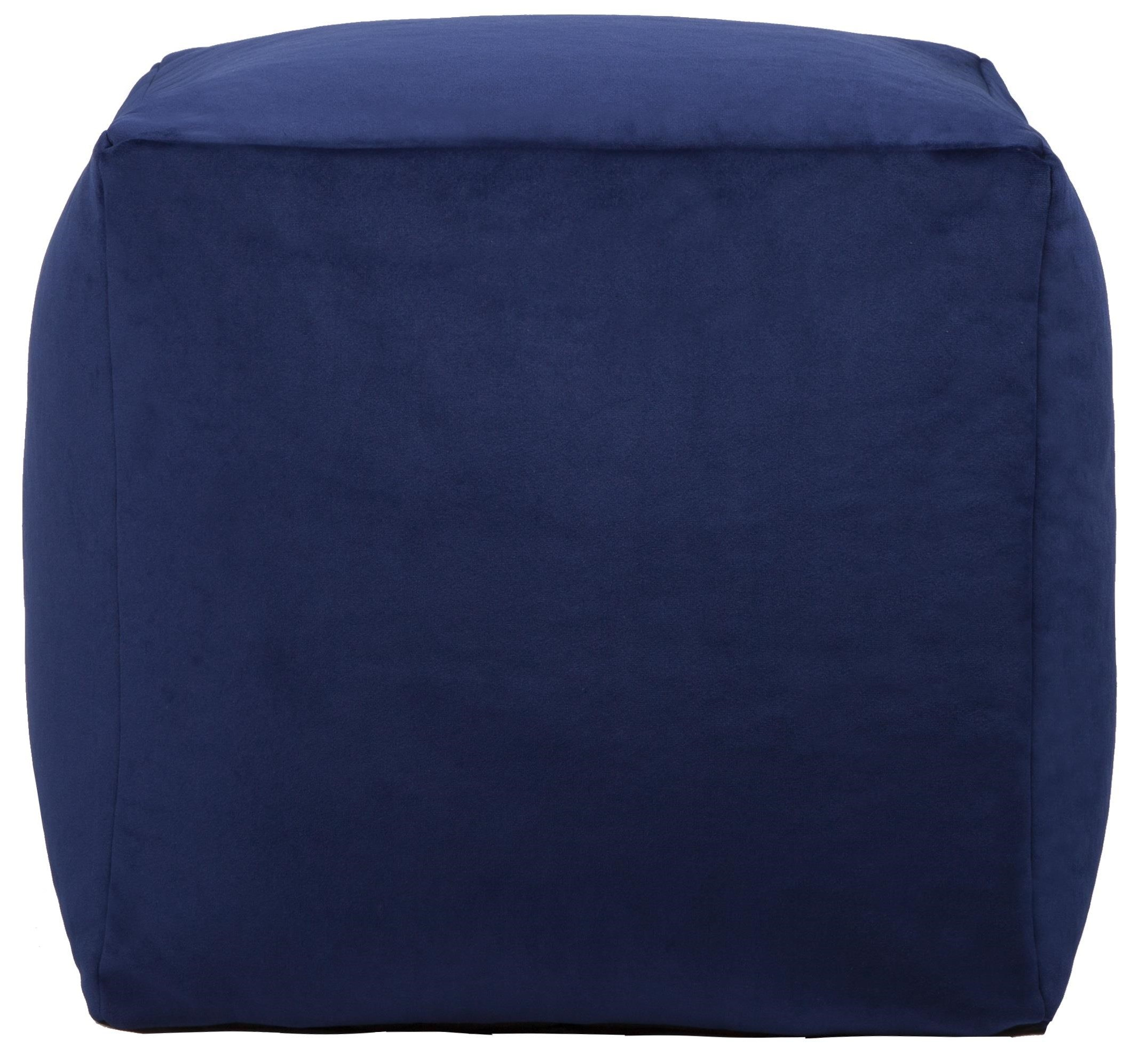 Beanbag Blue Cube Beanbag by Lazy Life Paris at Red Knot