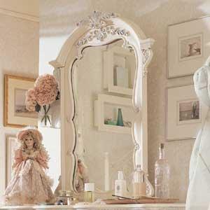 Lea Industries Jessica McClintock Romance Vertical Dresser Mirror