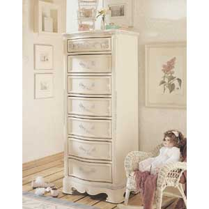 Lea Industries Jessica McClintock Romance 7 Drawer Seminier Chest