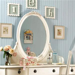 Lea Industries Emma's Treasures Bureau Mirror