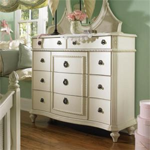 Lea Industries Emma's Treasures Bureau Dresser