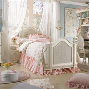 Lea Industries Emma's Treasures Twin Mansion Bed