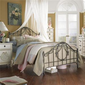 Lea Industries Emma's Treasures Twin Metal Bed