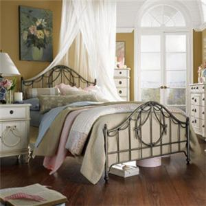 Lea Industries Emma's Treasures Full Metal Bed