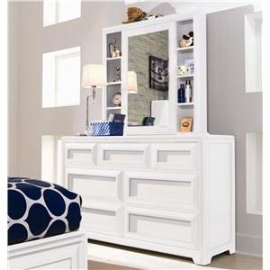 Lea Industries Elite - Reflections Dresser & Cabinet Mirror