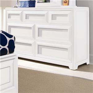 Lea Industries Elite - Reflections Drawer Dresser