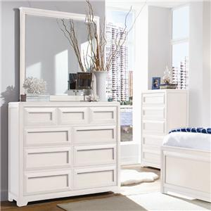 Lea Industries Elite - Reflections Dresser & Mirror