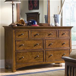 Lea Industries Elite - Crossover Drawer Dresser