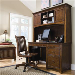 Lea Industries Elite - Crossover Desk & Hutch