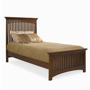 Lea Industries Elite - Crossover Full Slat Bed