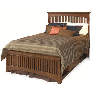 Lea Industries Elite - Crossover Full Slat Storage Bed