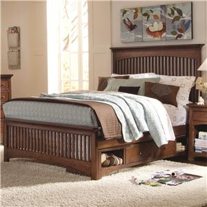 Lea Industries Elite - Crossover Queen Slat Storage Bed