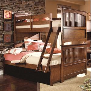 Lea Industries Elite - Crossover Twin-Over-Full Bunk Bed