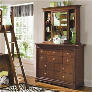 Lea Industries Elite - Classics Bureau and Mirror