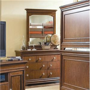 Lea Industries Elite - Classics Dresser and Vertical Mirror