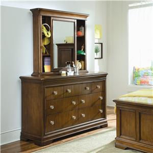 Lea Industries Elite - Classics Dresser and Bureau Mirror
