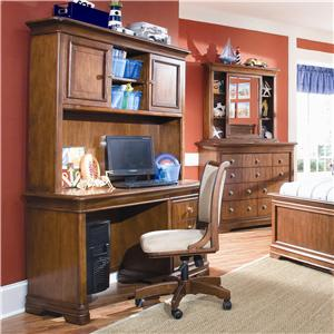 Lea Industries Elite - Classics Computer Desk and Hutch