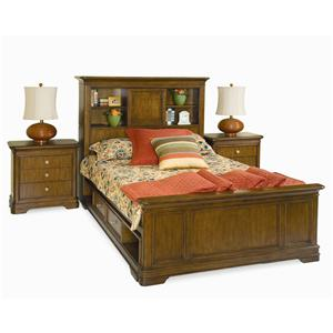 Lea Industries Elite - Classics Twin Bookcase Bed with Underbed Drawers