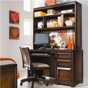 Lea Industries Elite - Expressions Desk with Hutch