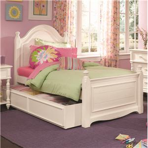 Lea Industries Hannah Full Panel Bed with Understorage