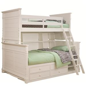 Lea Industries Hannah Twin Over Full Bunk Bed