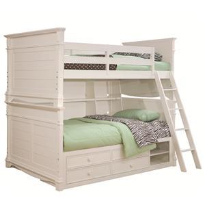 Lea Industries Hannah Full Over Full Bunk Bed