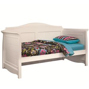 Lea Industries Hannah Twin Daybed with Rails and Slats
