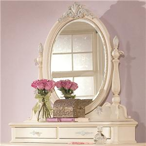 Lea Industries Jessica McClintock Romance Bureau Mirror