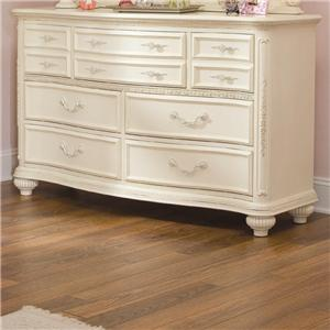 Lea Industries Jessica McClintock Romance 7 Drawer Dresser