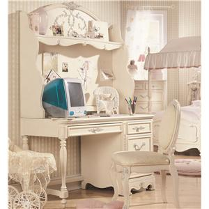 Lea Industries Jessica McClintock Romance Computer Desk & Hutch