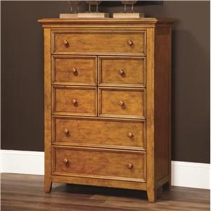 Lea Industries Willow Run 7 Drawer Chest