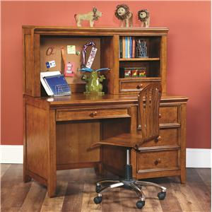 Lea Industries Willow Run Desk & Hutch