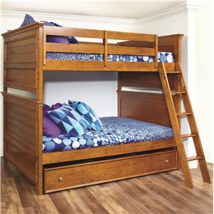 Lea Industries Willow Run Twin Bunk Bed with Trundle