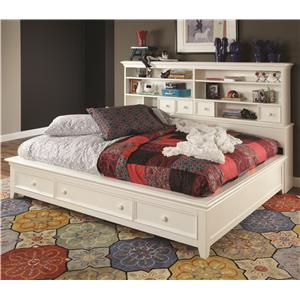 Lea Industries Willow Run Full Sideways Platform Bed