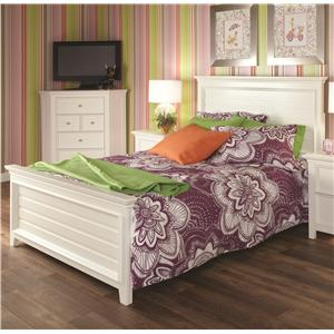 Lea Industries Willow Run Queen Panel Bed