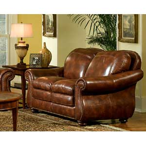 Leather Italia USA Hanover Loveseat