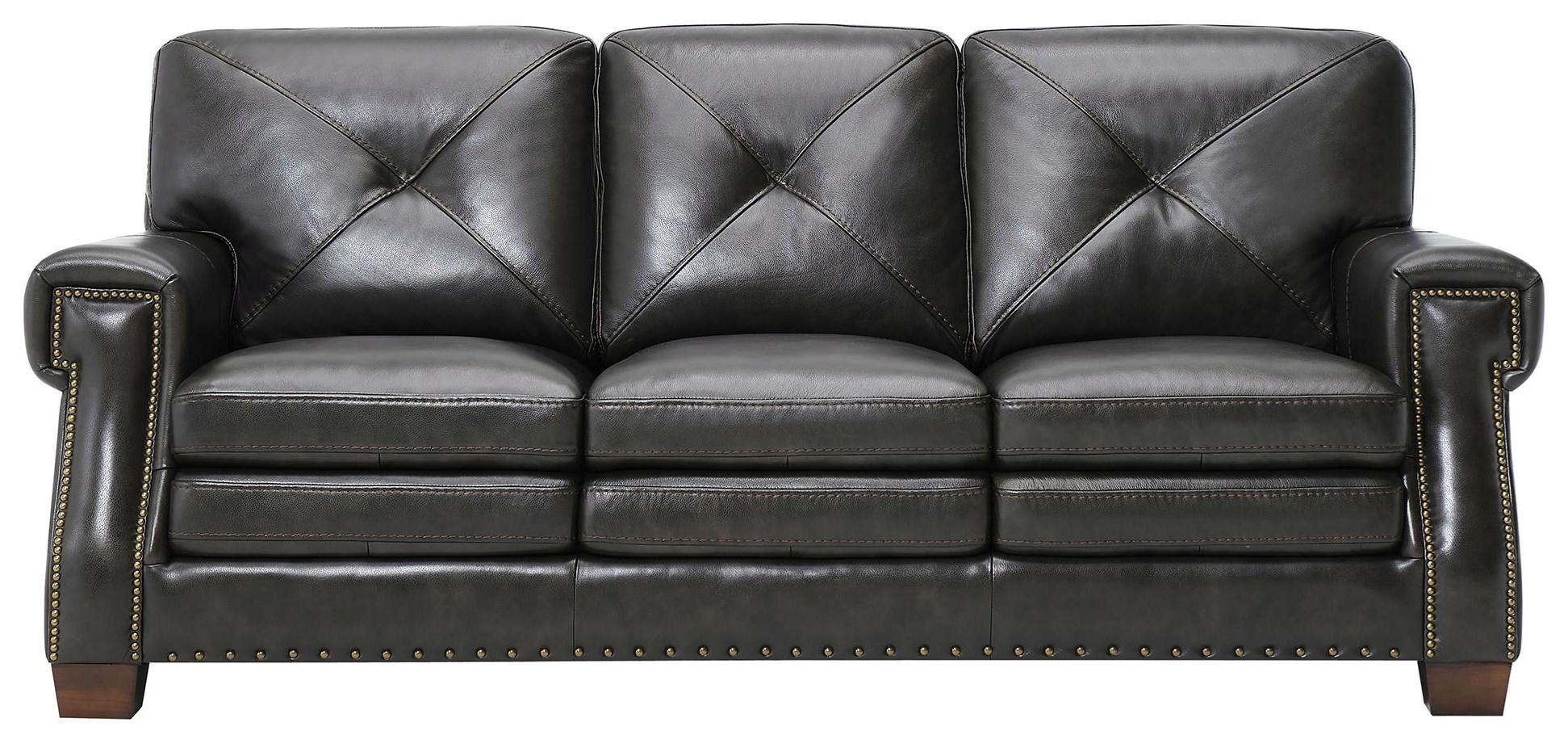 Tori Leather Sofa at Rotmans