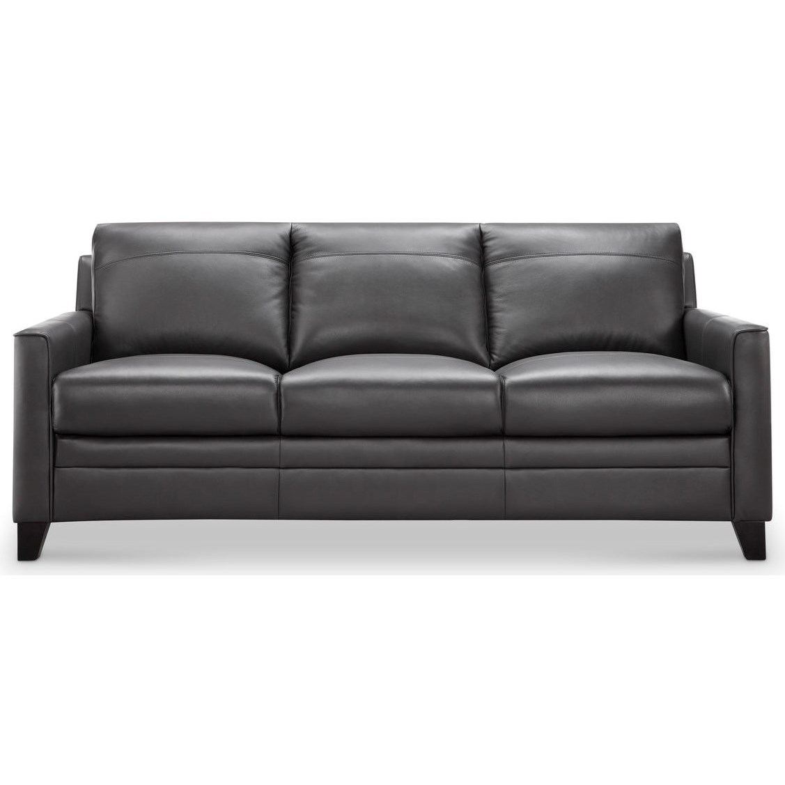 Fletcher Leather Sofa by Leather Italia USA at Home Furnishings Direct