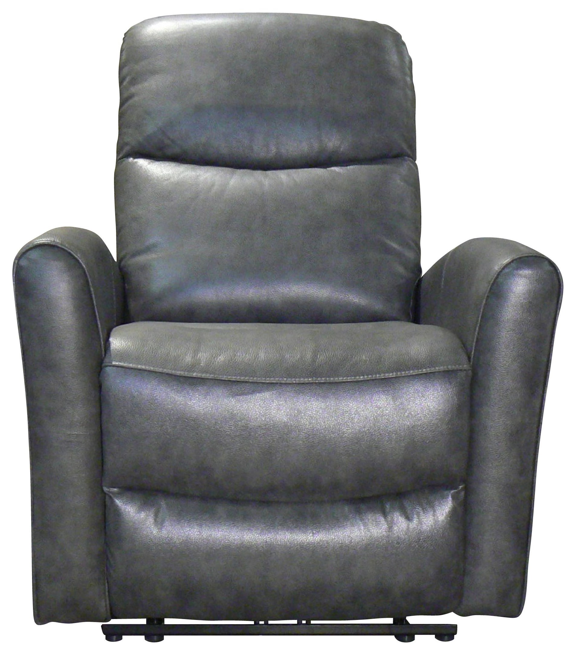 Abby Power Recliner by Benini Leather at Bennett's Furniture and Mattresses