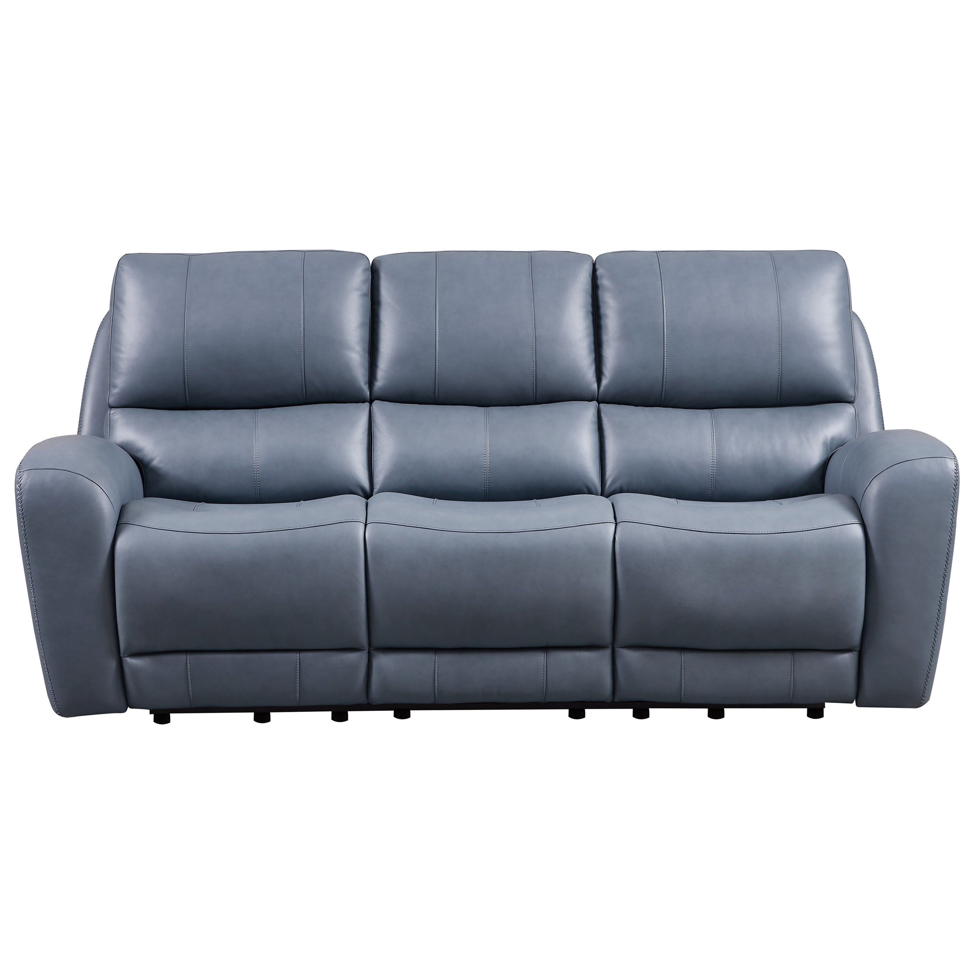 Belair Power Reclining Sofa by Leather Italia USA at Darvin Furniture