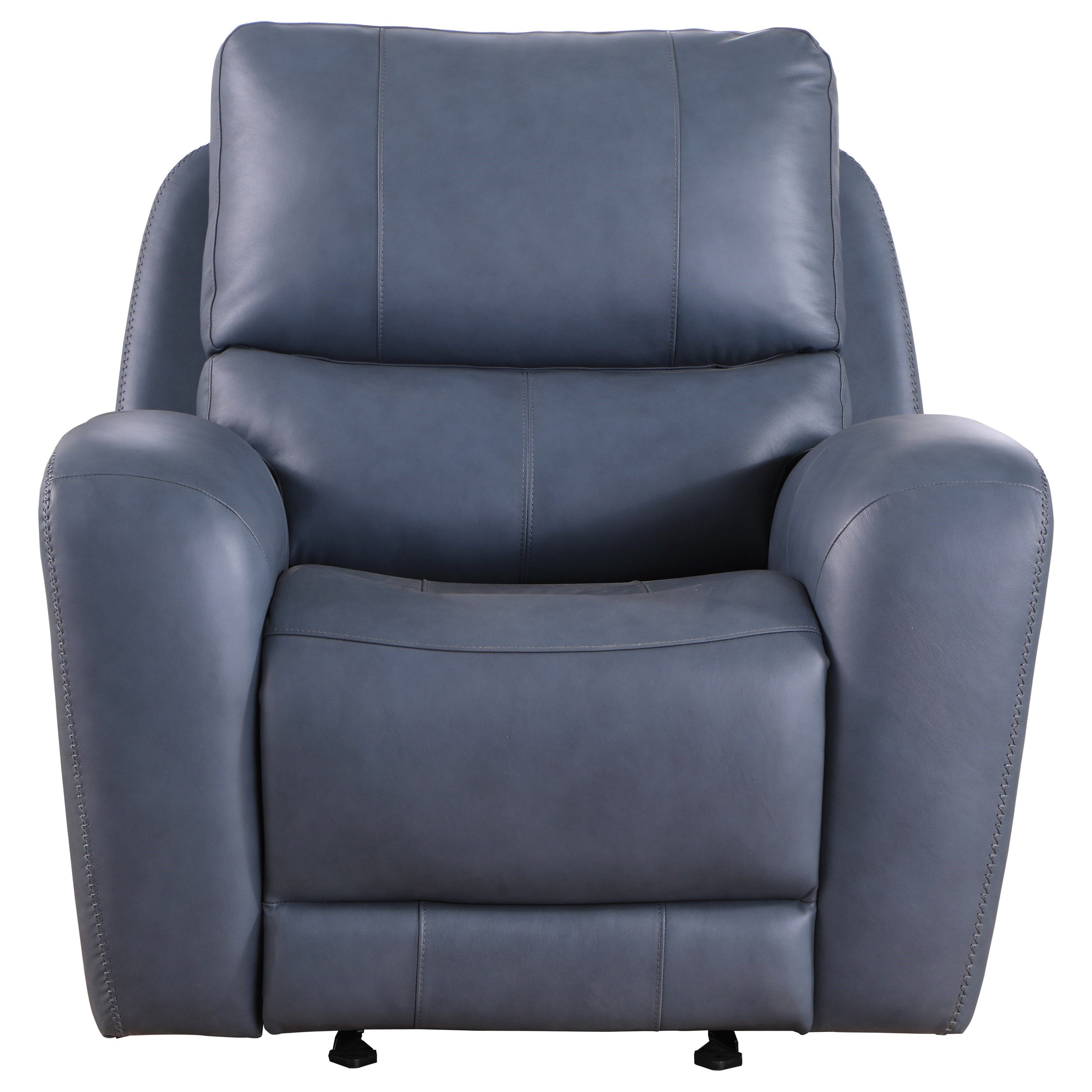 Belair Power Recliner by Leather Italia USA at Darvin Furniture